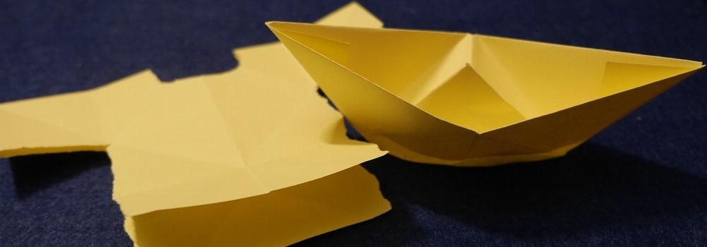 Wie falte ich ein Boot und …eine Bank? – AHA-ERLEBNISmuseum für ... | 350x1000